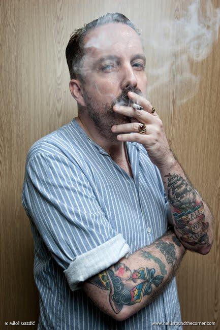 Sonny Sandoval Knuckle Tattoos